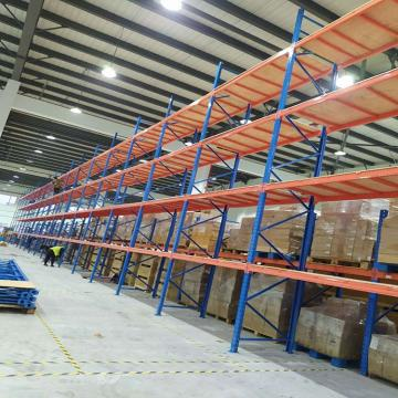 High load capacity Adjustable banner storage steel pallet rack